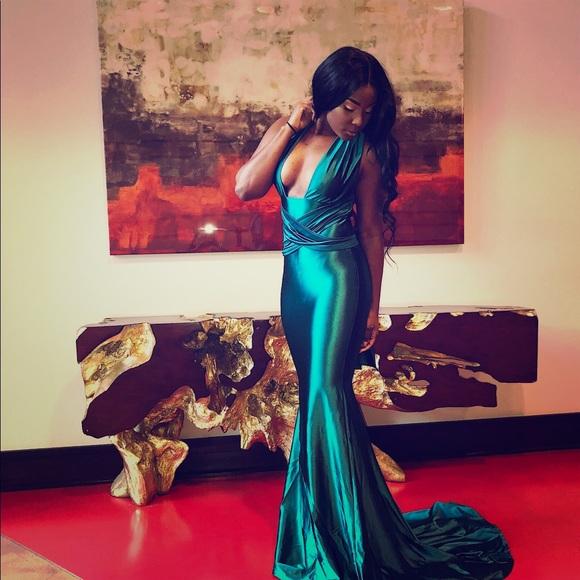 Dresses   Emerald Green Evening Gown Prom Dress Gala Event   Poshmark